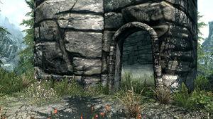 Теневая башня - вход