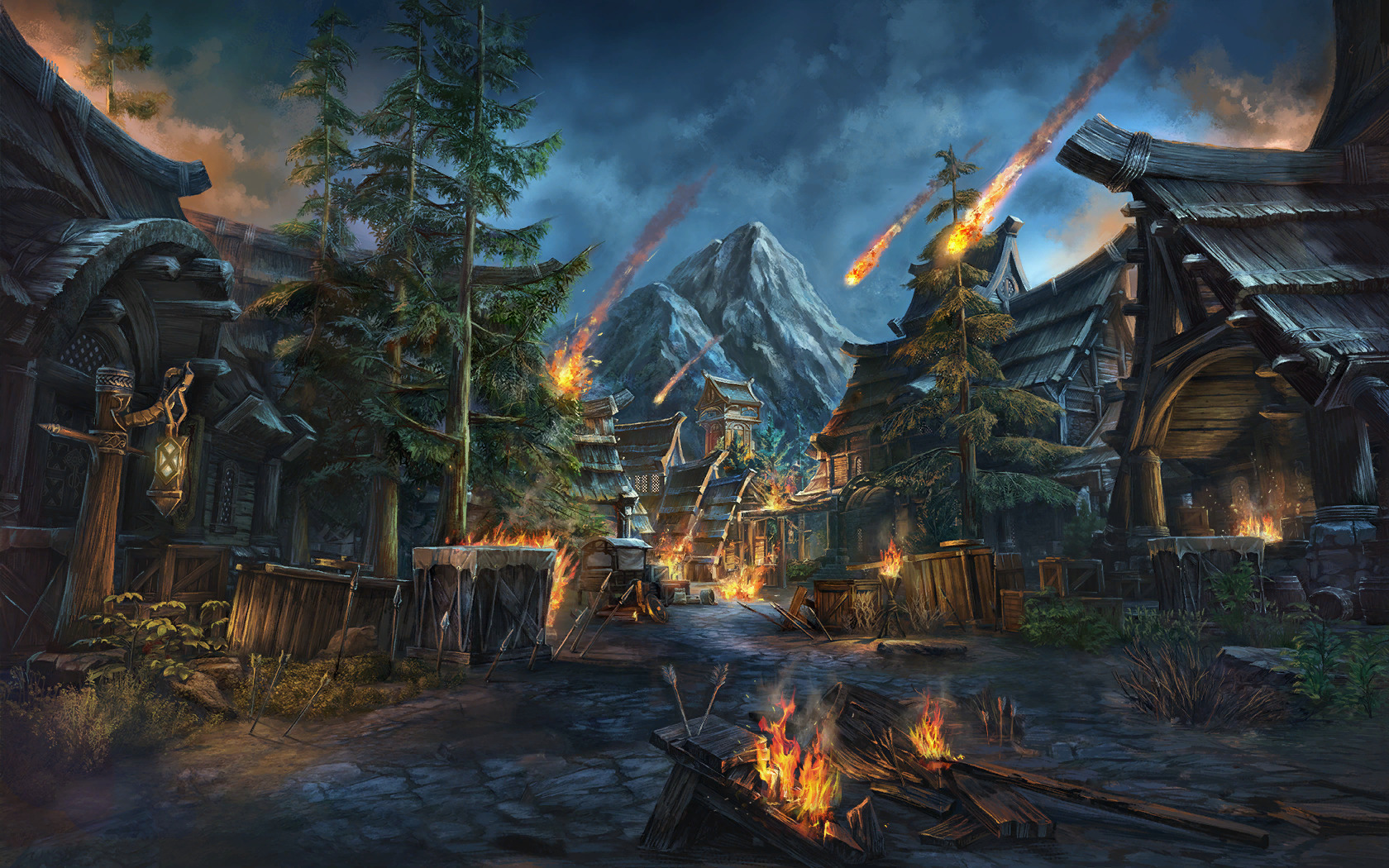 Loading Screen From Eso Elderscrolls – Desenhos Para Colorir
