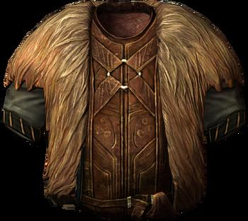 Fur-Trimmed Cloak | Elder Scrolls