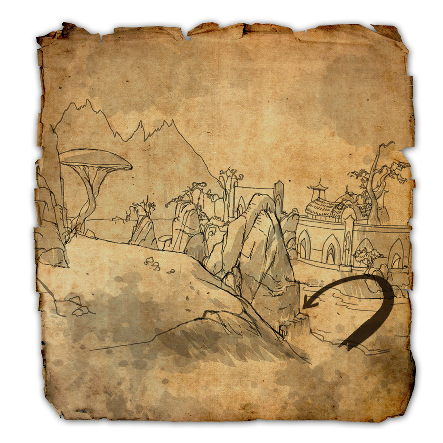 Stonefalls Treasure Map II | Elder Scrolls | FANDOM powered by Wikia