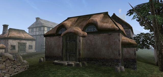 File:TES3 Morrowind - Pelagiad - Dralas Gilu's House exterior.jpg