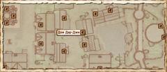 Дом Дар-Джи. Карта