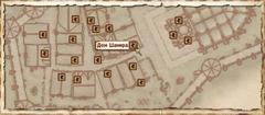 Дом Шамира. Карта