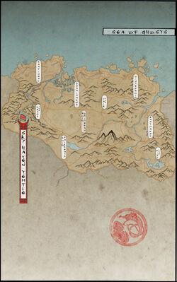 Mapa del Templo de Refugio Celestial
