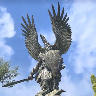Posąg Auri-Ela z gry The Elder Scrolls Online