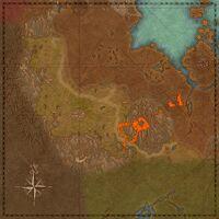 Варанис (карта)