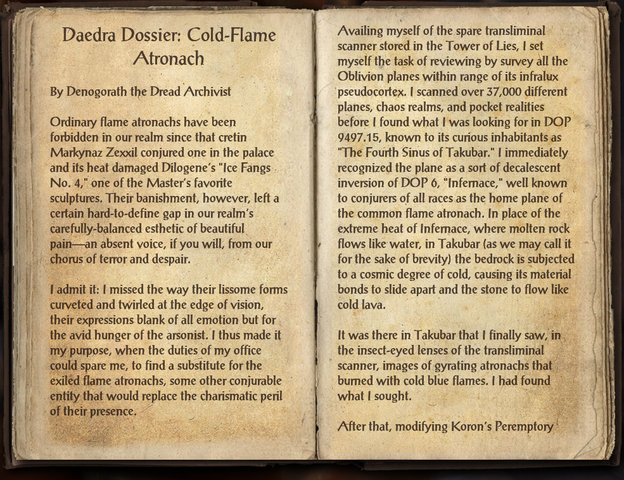 File:Daedra Dossier~ Cold-Flame Atronach.png