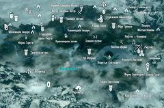 Derevnya lesnaya map