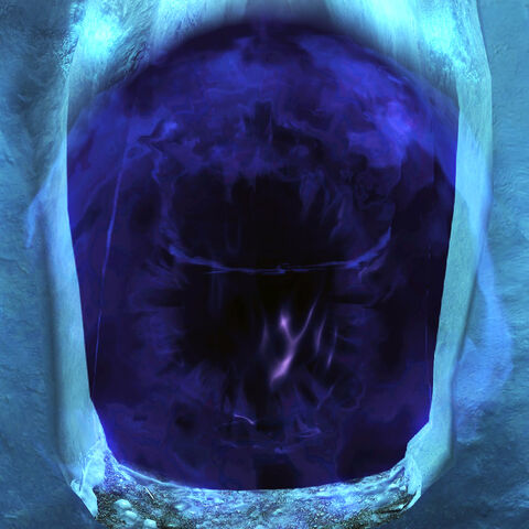 Hermaeus Mora w formie otchłani z gry The Elder Scrolls V: Skyrim