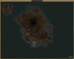 Кальдера карта