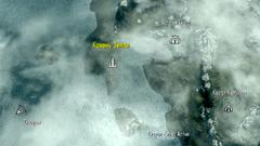 Камень земли на карте (Dragonborn)
