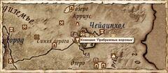 Конюшня Прибрежные вороные. Карта