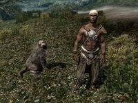 Охотник и верный пес