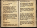 Blessed Almalexia's Fables for Evening pages 1-2.png