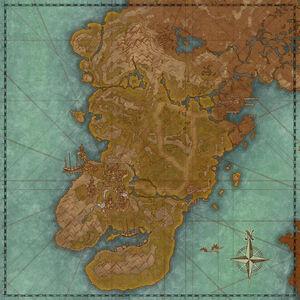Даэния (карта)