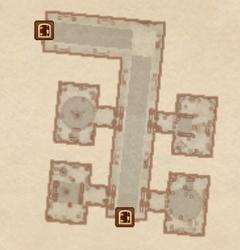 Замок Чейдинхол - Личные покои. План