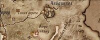 Карта святилища Вермины