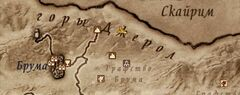 Лагерь Двух Палуб. Карта