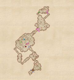 План пещеры