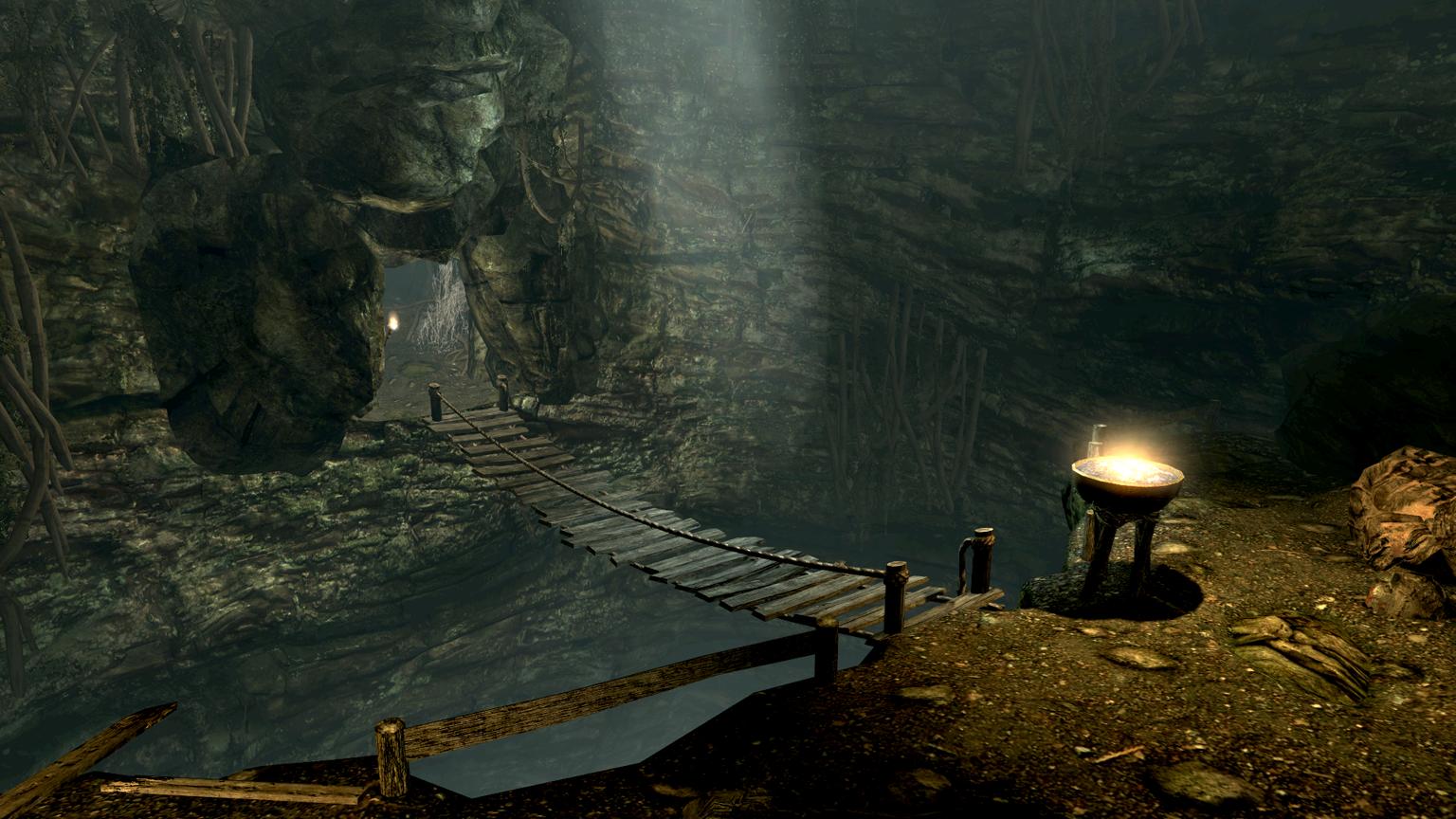 Darkfall Cave Elder Scrolls Fandom Powered By Wikia