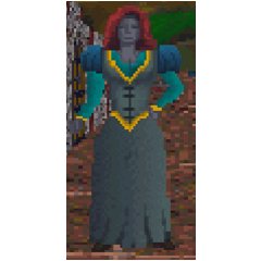 Dunmerka z gry The Elder Scrolls: Arena