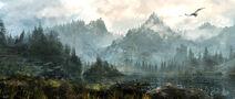Skyrim landscapes