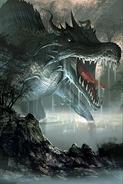 Swamp Leviathan card art