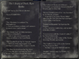 The Library of Dusk: Rare Books