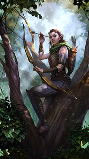 Wood Elf avatar 3 (Legends)