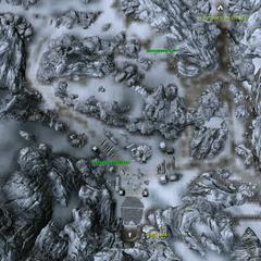 Гора Антор - план