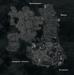 Подкаменная крепость - план