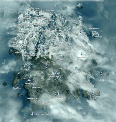 Солстхейм - карта