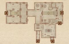 Замок Лейавин - Большой зал. План