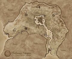 Карта Сиродила