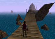 Redguard - Retrieve N'Gasta's Amulet - Ninth Bridge