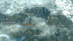 Камнепадная пещера - карта