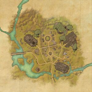 Торговый пост Рыжий Мех (план)