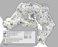 Дэйдрот карта