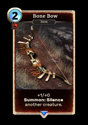 Костяной лук (Card)