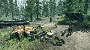 Полулунная лесопилка - хозяйство