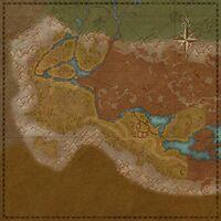 Рваные Холмы (карта)