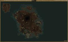 Тель Арун. Карта