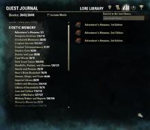Quest journal thifi
