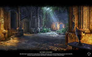 Red Temple Catacombs Loading Screen