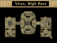 Vivec, High Fane - Interior Map - Morrowind
