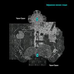 Заброшенная насосная станция - план