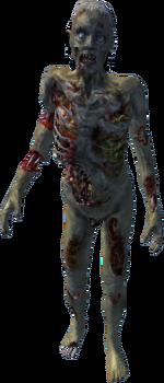 Oblivion zombie body