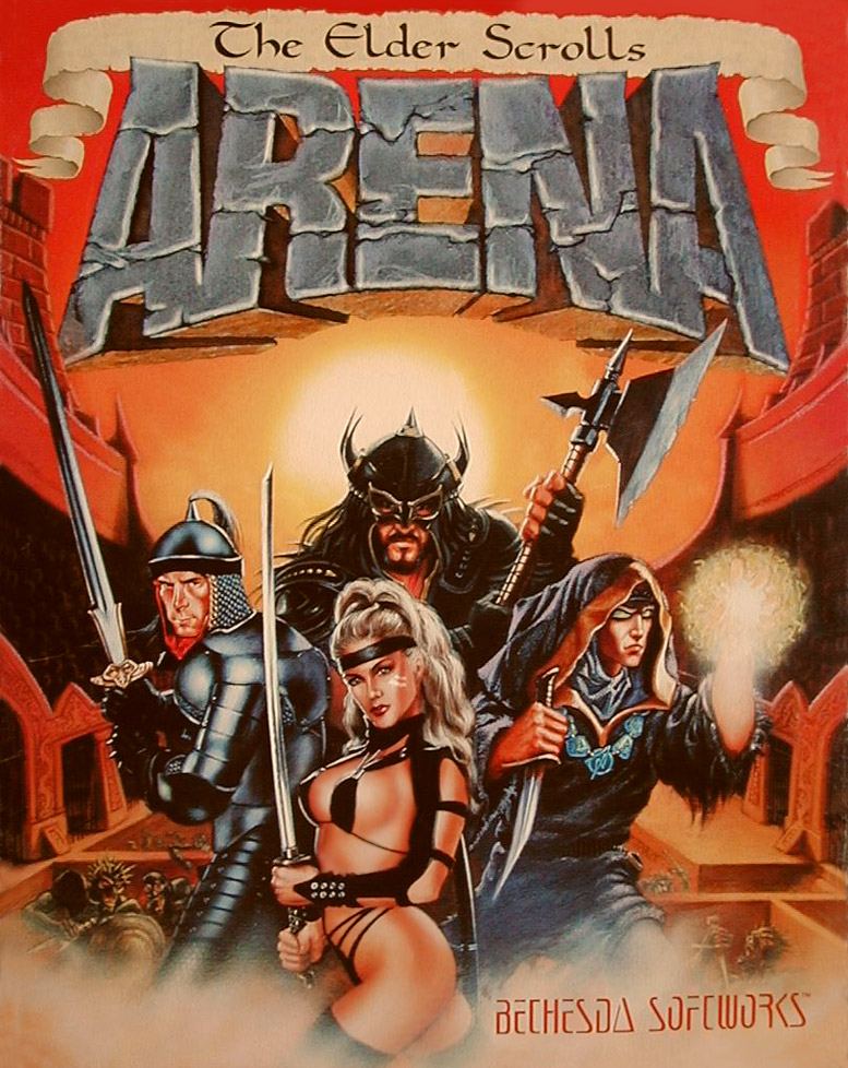ÐаÑÑинки по запÑоÑÑ the elder scrolls arena