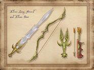 TESIV Concept Elven Weapons