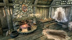 Дом Йоргена и Лами - кухня